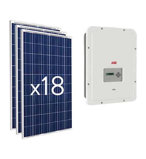 On Networking Luminaria Panel Solar Led - Kit 5000