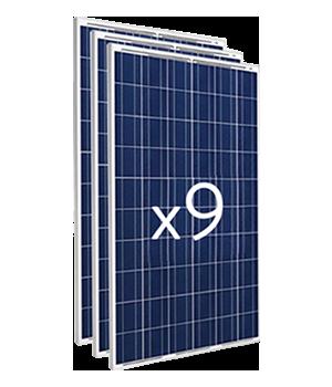 On Networking - Luminaria panel solar LED - Paneles Fotovoltaicos
